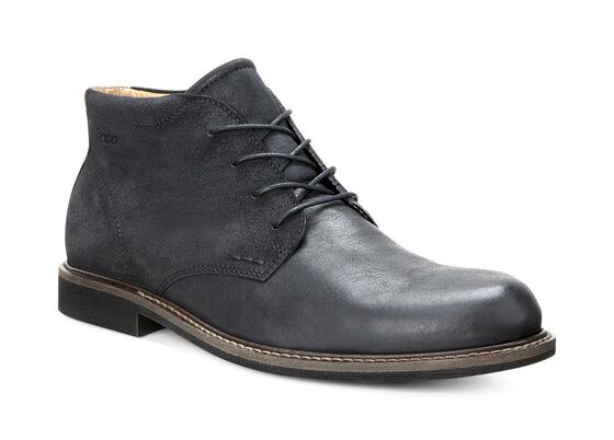 ECCO Findlay Chukka Boot (BLACK/BLACK)