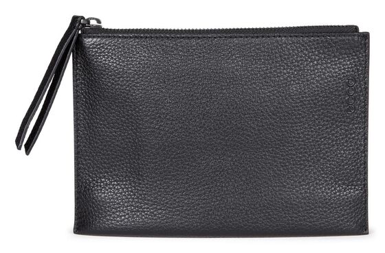 ECCO Sculptured Small Clutch (BLACK)
