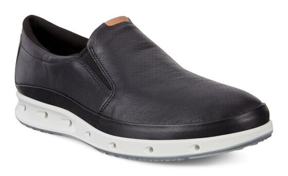 ECCO Mens Cool Slip OnECCO Mens Cool Slip On in BLACK (02001)