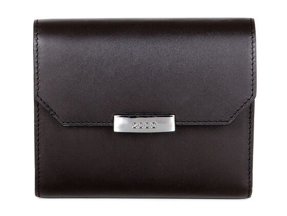 ECCO Glade French Wallet (BLACK)