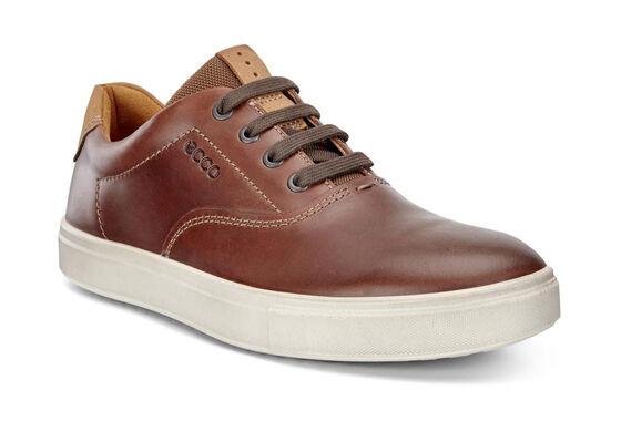 ECCO Kyle Retro Sneaker (COGNAC/LION)