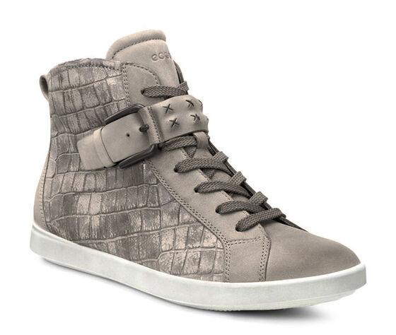 ECCO Aimee High Top Sneaker (MOON ROCK/MOON ROCK)