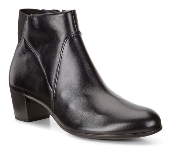 ECCO Shape 35 Mid Cut Boot (BLACK)