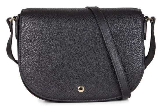 ECCO Kauai Medium Saddle Bag (BLACK)