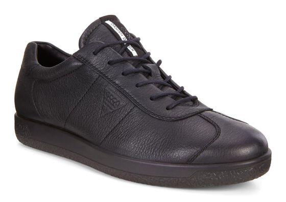 ECCO Mens Soft 1 Tie (BLACK)