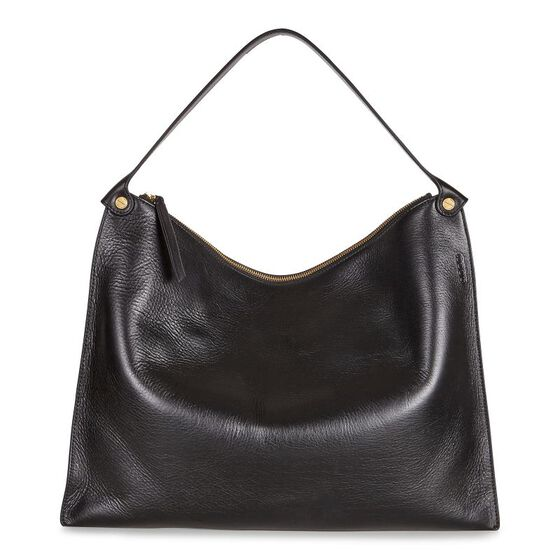 ECCO Sculptured Shoulder Bag (BLACK)