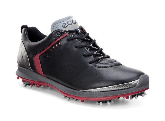 ECCO Mens BIOM Golf 2 GTX   (BLACK/BRICK)