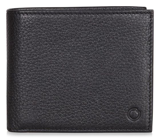 ECCO Jos Flap Wallet (BLACK)