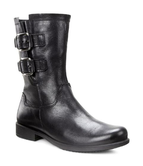 ECCO Touch 25 Buckle Boot Mid (BLACK)
