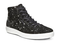 ECCO Mens Soft 7 High Top (BLACK)