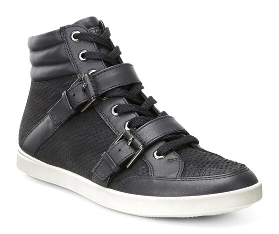 ECCO Aimee Casual Boot (BLACK/BLACK)