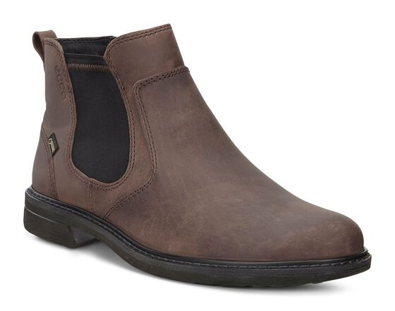 ECCO Turn GTX Chukka Boot (COCOA BROWN)