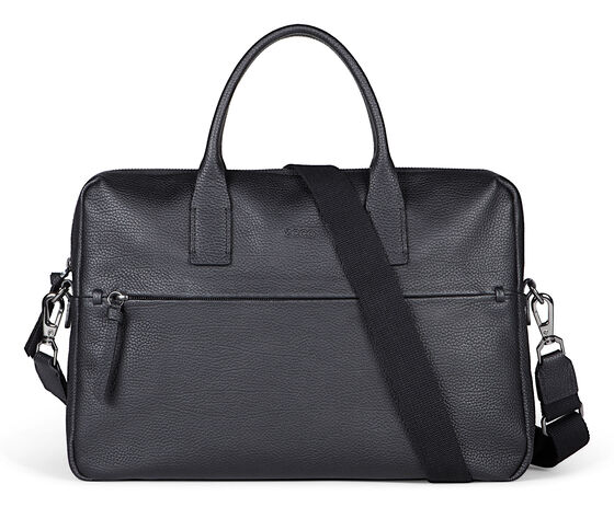 ECCO SP Slim Briefcase (BLACK)
