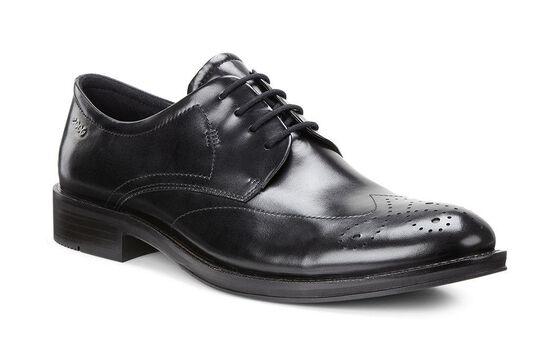 ECCO Henley Tie (BLACK)