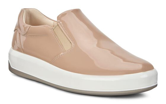 ECCO Womens Soft 9 Slip On (GINGER)