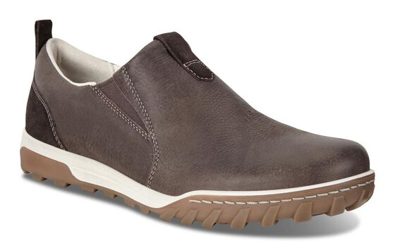 ECCO Mens Urban Lifestyle Slip OnECCO Mens Urban Lifestyle Slip On COFFEE/LICORICE (55818)