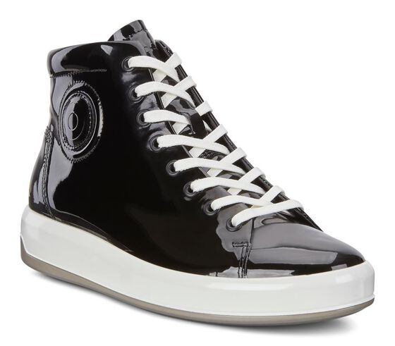 ECCO Womens Soft 9 High TopECCO Womens Soft 9 High Top BLACK (04001)