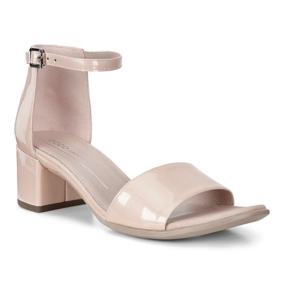 ECCO Shape 35 Block Ankle Sandal (ROSE DUST)