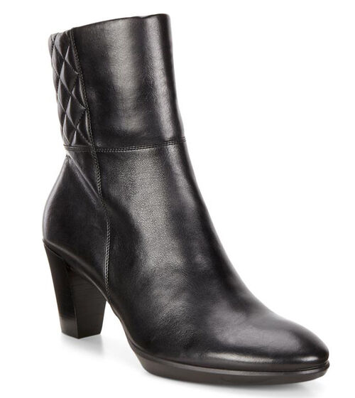 ECCO Shape 55 Plateau Zip Boot (BLACK)