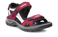 ECCO Womens Offroad SandalECCO Womens Offroad Sandal in CHILI RED/CONCRETE/BLACK (55287)