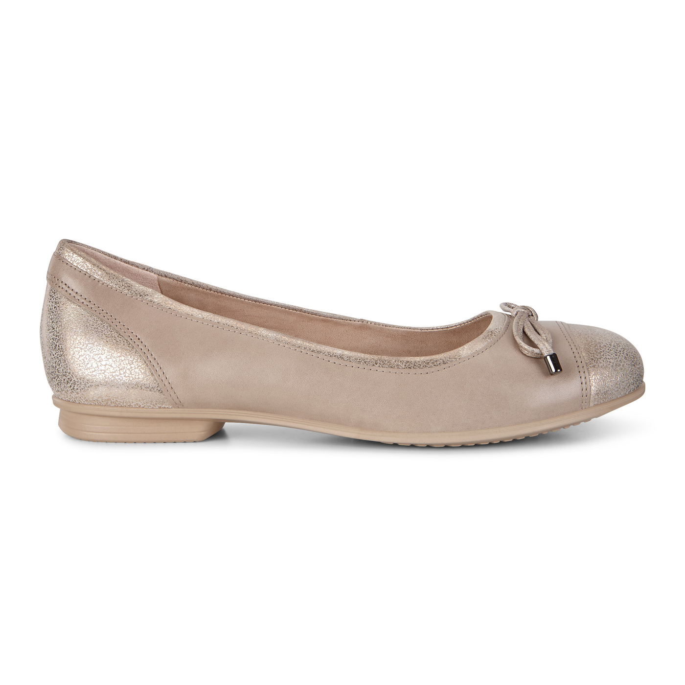 ECCO Touch Ballerina Bow