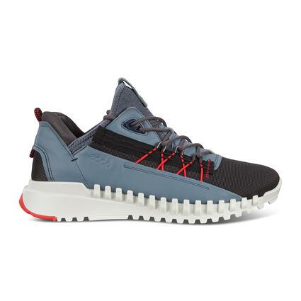 ECCO ZIPFLEX Men's Low Leather/Textile Sneaker