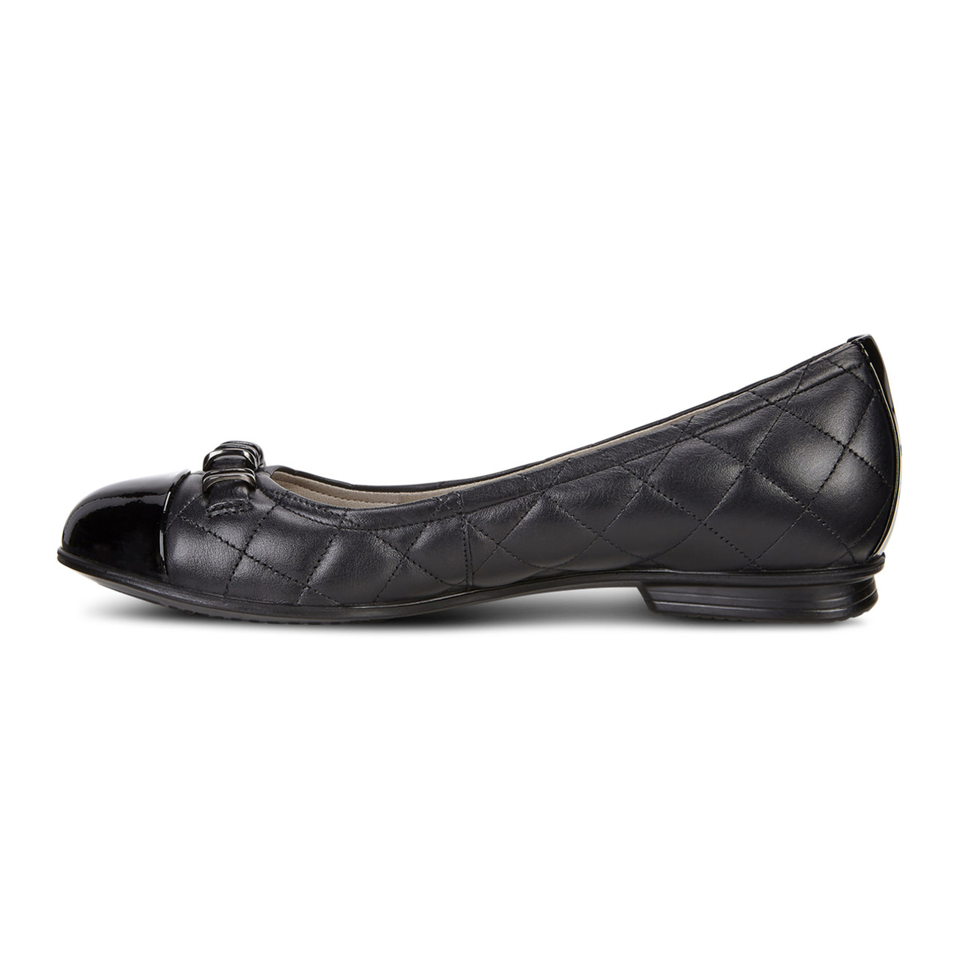 ECCO Touch Quilted Ballerina