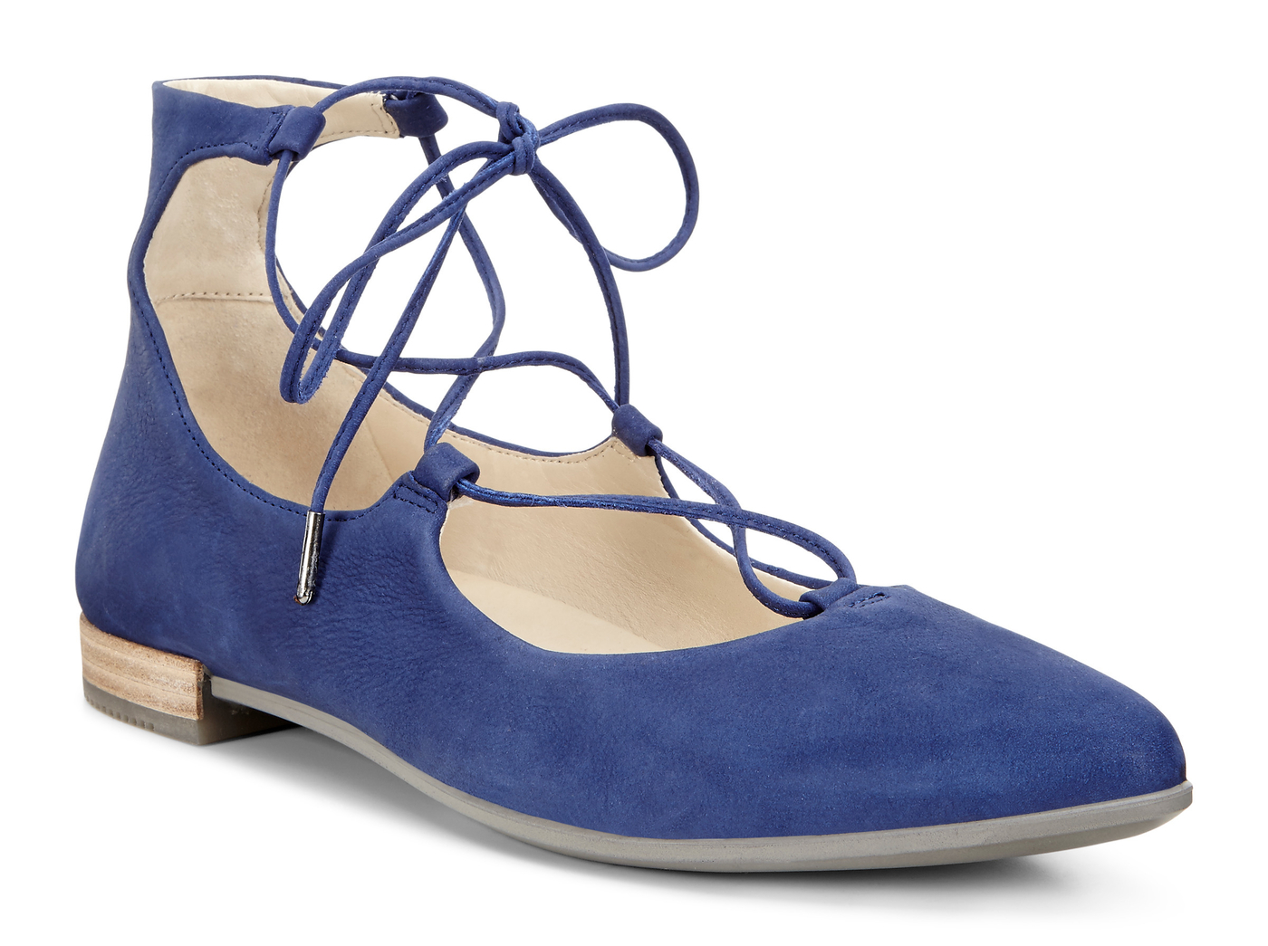 ECCO Shape Tie Up Ballerina