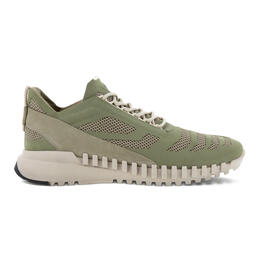 ECCO ZIPFLEX Men's Low Textile Sneaker