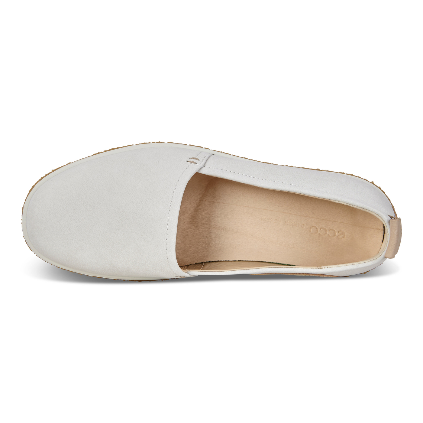 ECCO Womens Crepetray Slip On