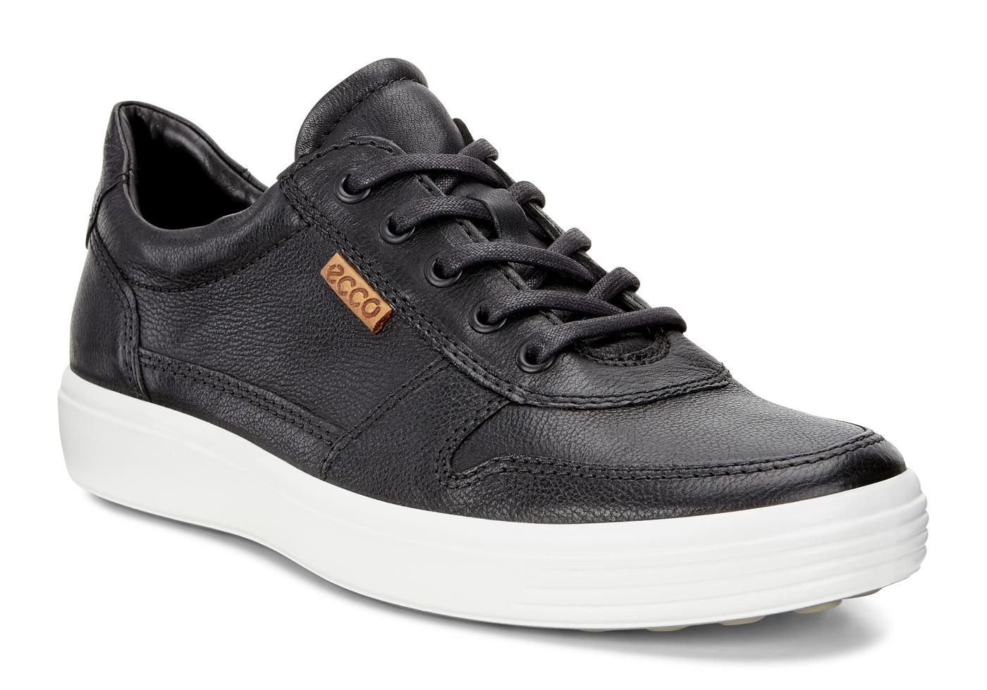ECCO Mens Soft 7 Retro Sneaker