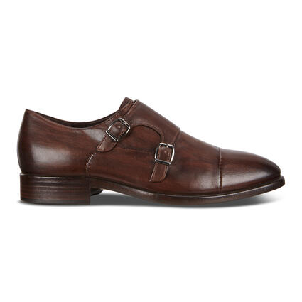 ECCO Vitrus Mondial Men's Double Monk Strap Shoes
