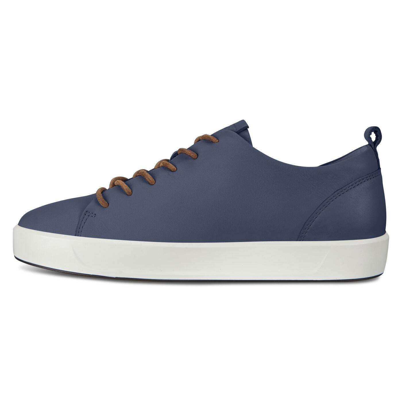 ECCO SOFT 8 Mens DriTan Sneaker Tie