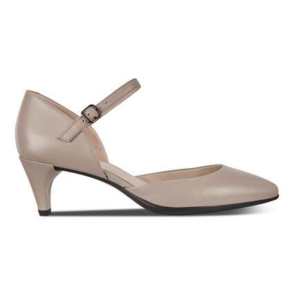 ECCO Shape 45 Pointy Sleek Ankle Strap Pump