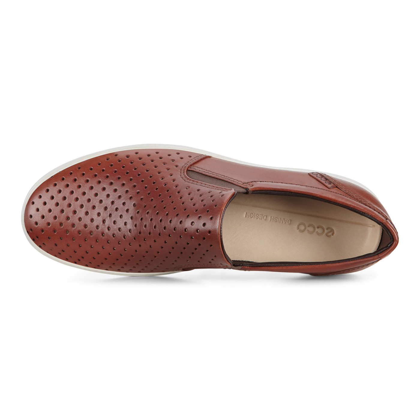 ECCO Mens Soft 7 Retro Slip On