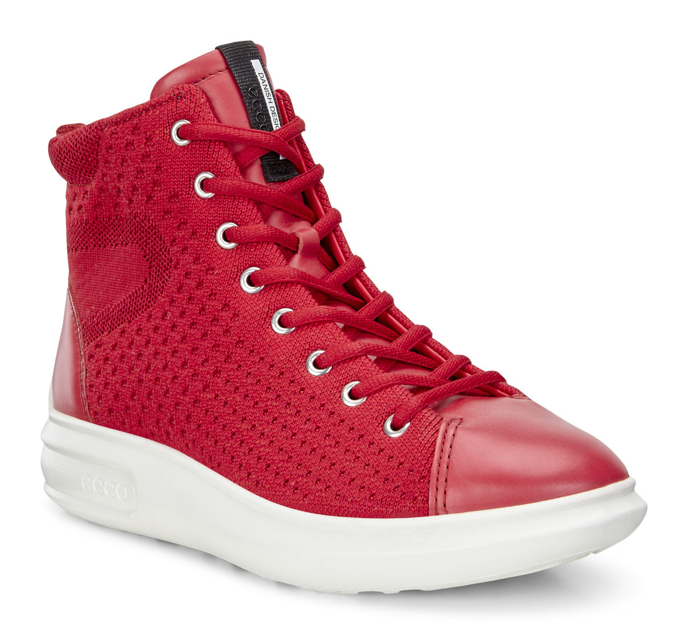 ECCO Womens Soft 3 High Top