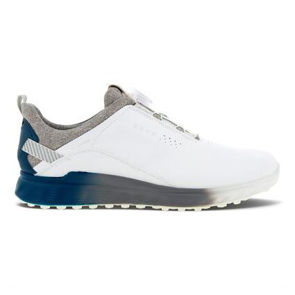 ECCO Men's GOLF S-THREE BOA GTX Golf Shoes