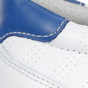 white/mazarine blue