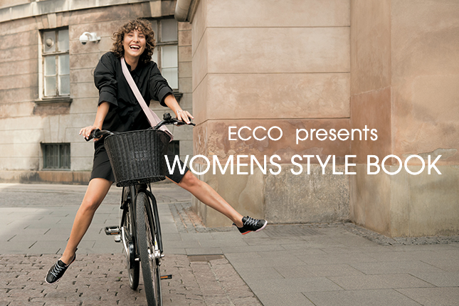ECCO presents WOMENS STYLE BOOK